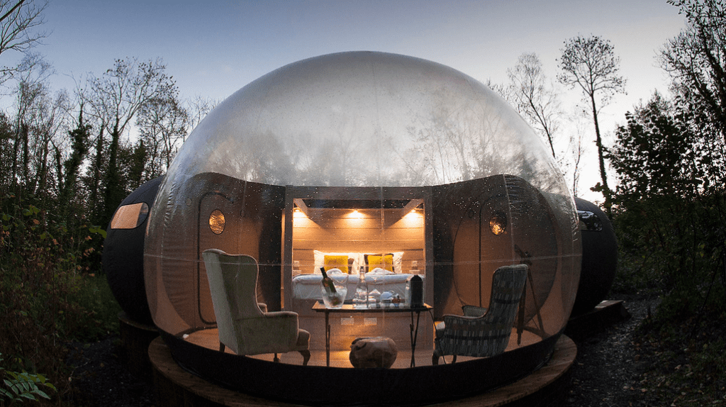Finn Lough Bubble Domes | Image courtesy of Finn Lough