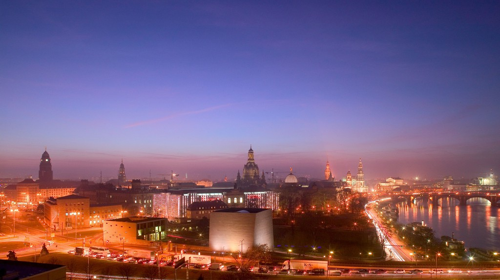 Dresden has a superb architectural cityscape © Sylvio Dittrich/dresden.de