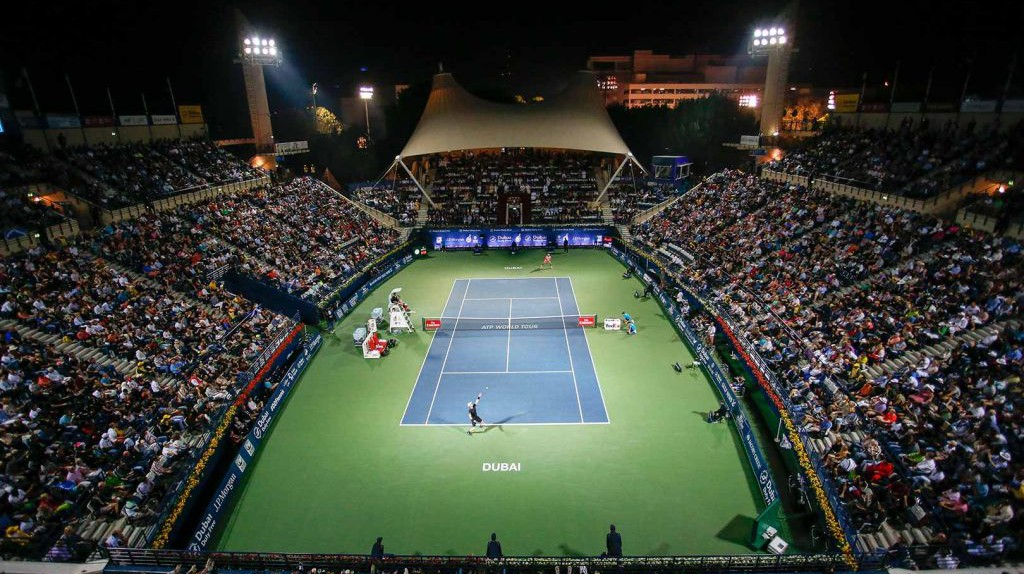 Dubai Tennis | © Courtesy of Dubai Duty Free Tennis Championships