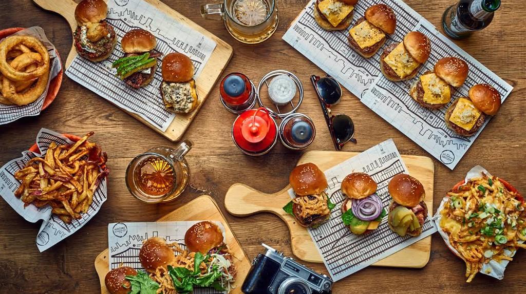 Hudson's burger joint | Courtesy Hudsons