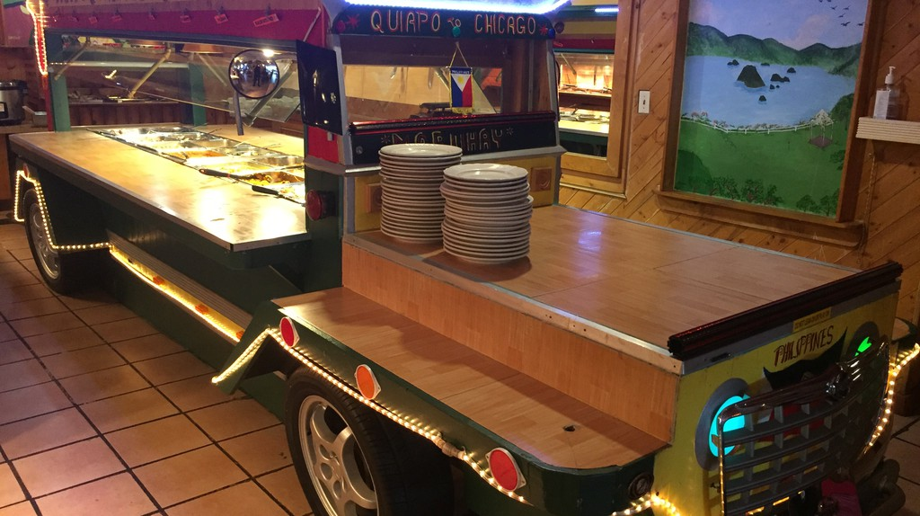 The Jeepney buffet at Little Quiapo Restaurant