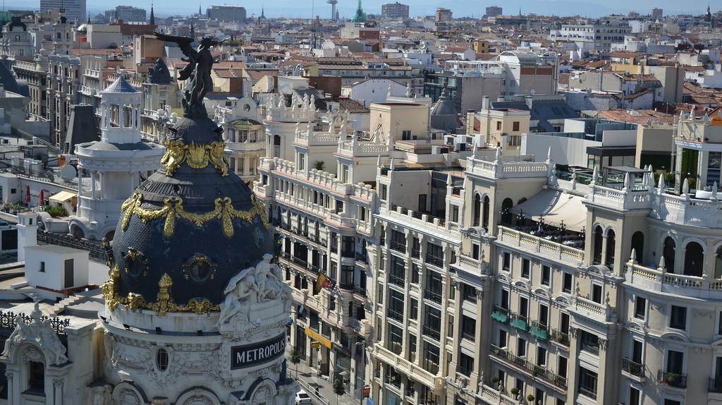 Madrid skyline |  © iteijeiro/Flickr