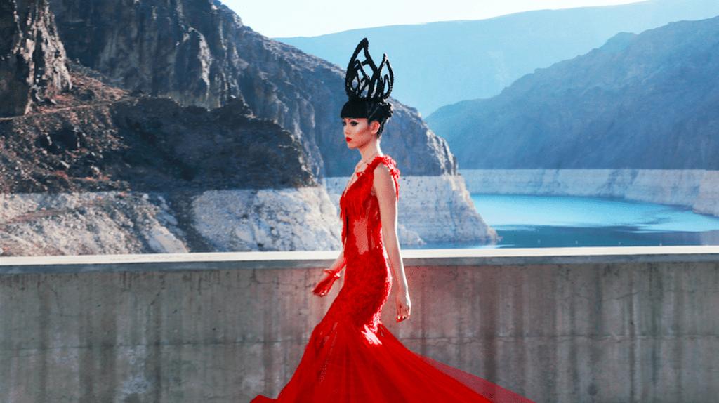 Jessica Minh Anh atop Hoover Dam in Patricia Nascimento