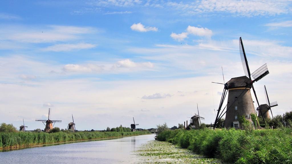 Kinderdijk Mill Network | © pixabay