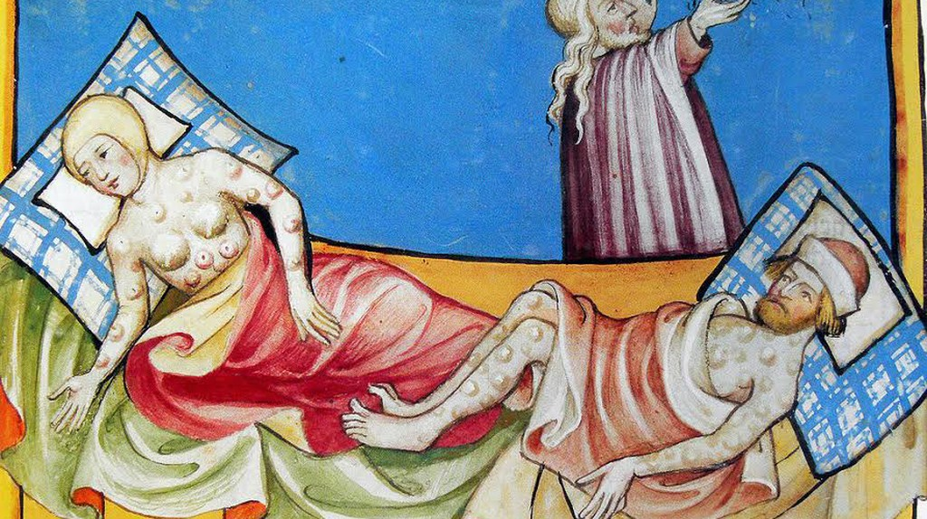 Miniature out of the Toggenburg Bible    Public Domain/Wikimedia