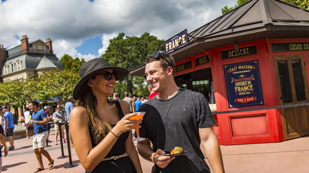 Disney's fall culinary extravaganza, the Epcot® International Food & Wine Festival | © Matt Stroshane, photographer / Courtesy of Walt Disney World Resorts
