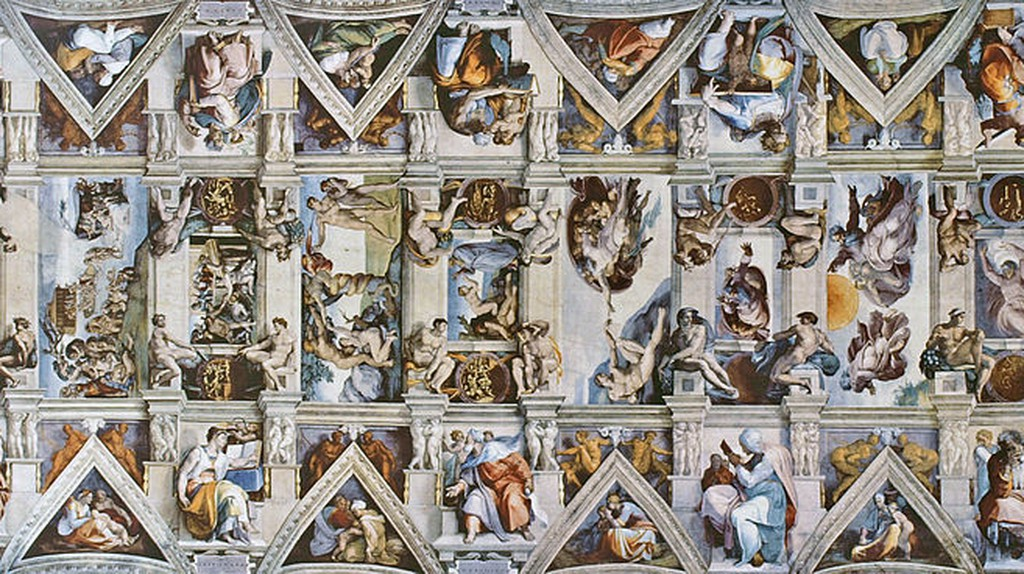 Sistine Chapel ceiling | © Qypchak/WikiCommons
