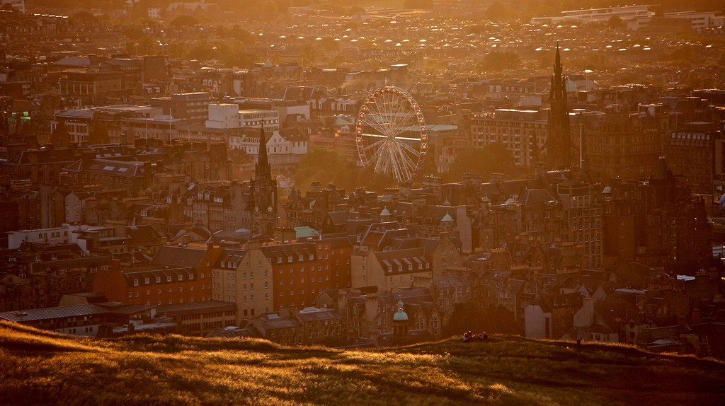 Sunset Over Arthurs Seat   © Marco Bellucci/Flickr