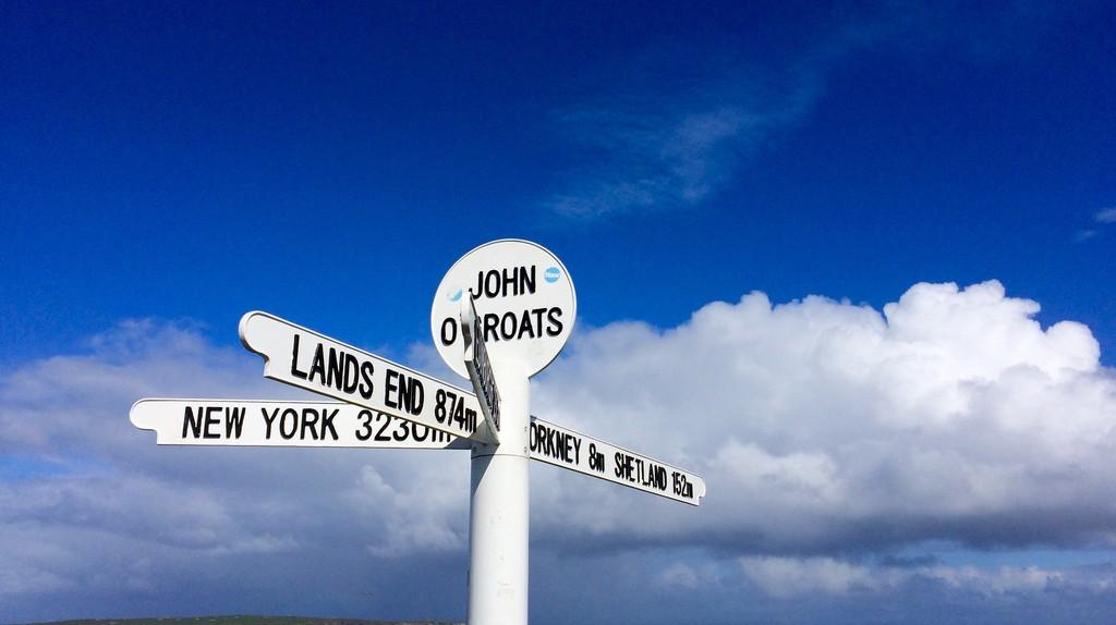 The Famous Sign At John o'Groats   © Dario Tortora/Flickr