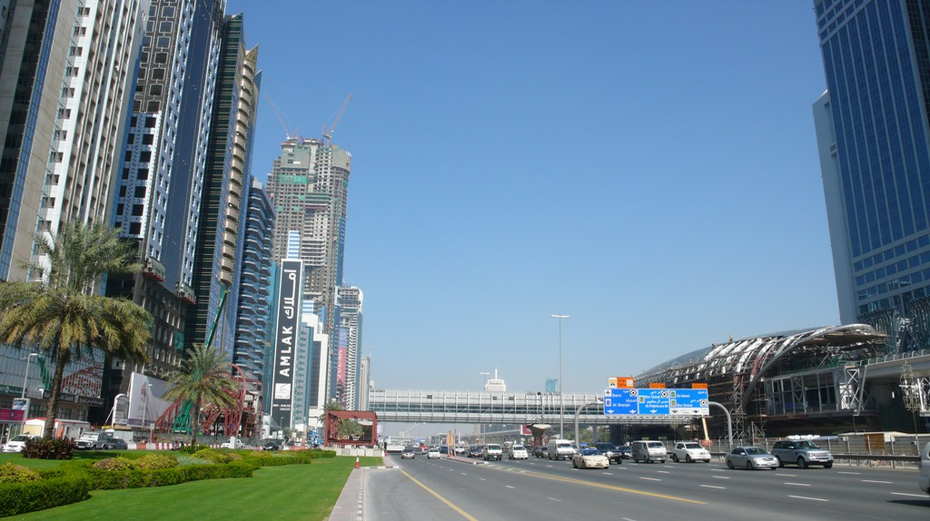 Sheikh Zayed Road | © Christopher/Flickr