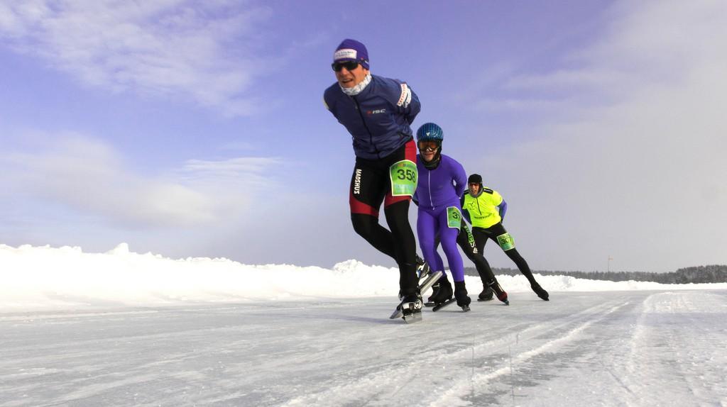 Nordic skaters in Finland / Visit Lakeland / Flickr