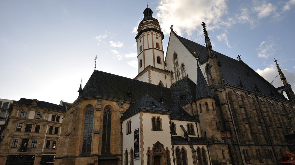 Thomaskirche in Leipzig, 2009 | © vxla/Flickr