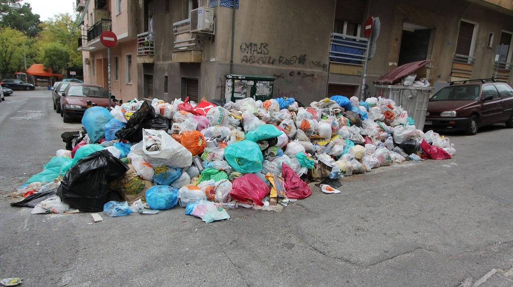 Municipality workers on strike, Athens   © Tilemahos Efthimiadis / Flickr