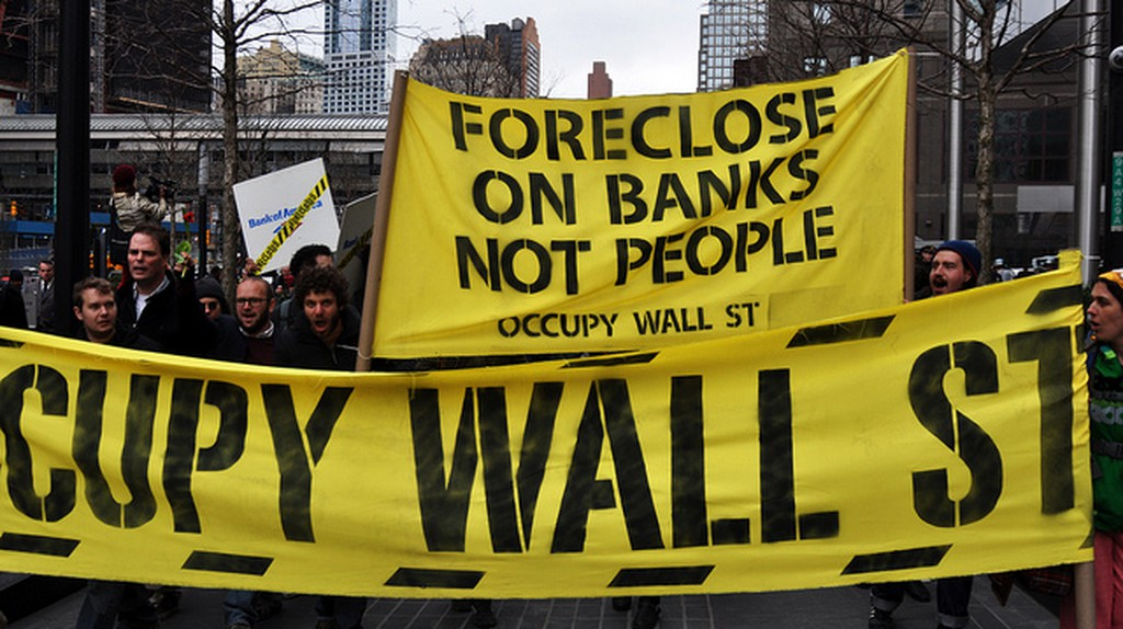 Occupy Wall Street | © Michael Fleshman/Flickr