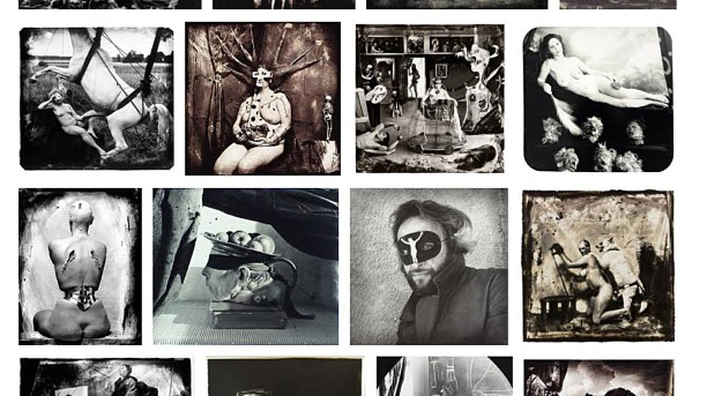A compilation of photographs by Joel-Peter Witkin | Via See-ming Lee/Flickr