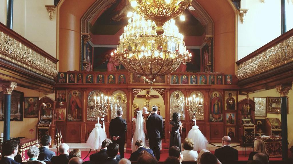 A Greek wedding ceremony   © Milkbar Nick/Flickr