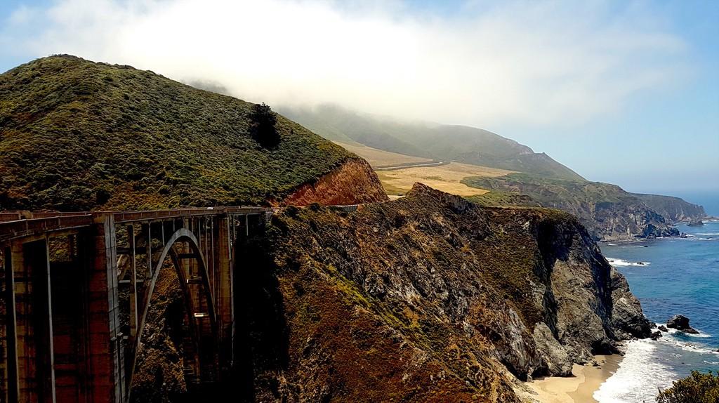 Bixby Bridge in Monterey California as seen in HBO series Big Little Lies © Culture Trip