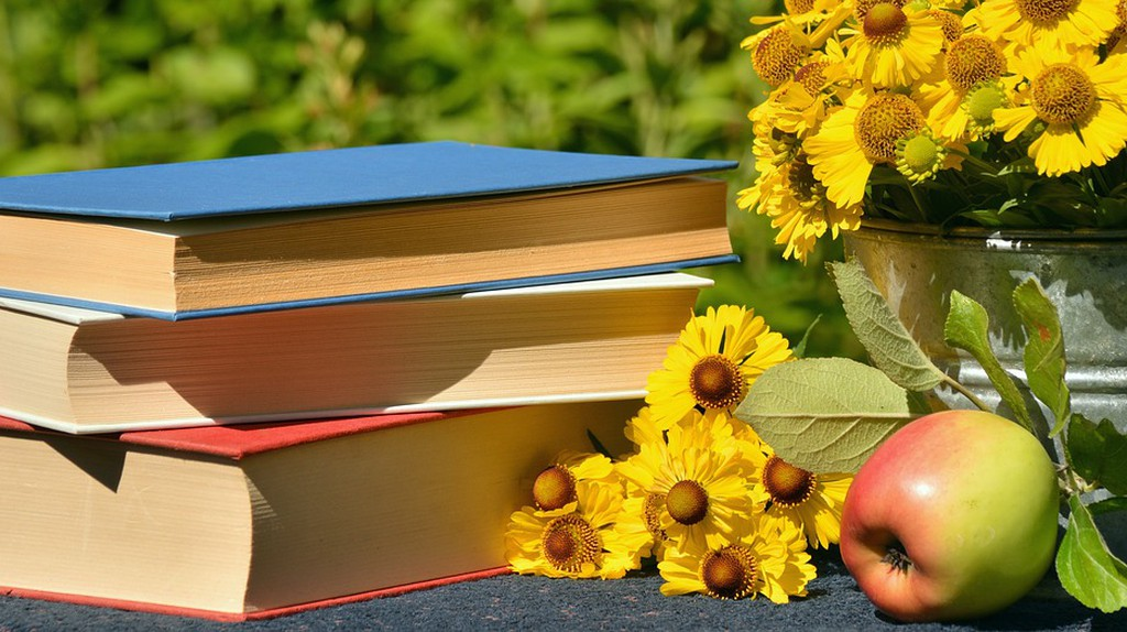 Sunny days pair well with a good book. © Pixabay