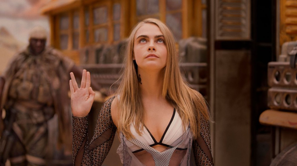 Cara Delevingne in Valerian and the City of a Thousand Planets | © Lionsgate