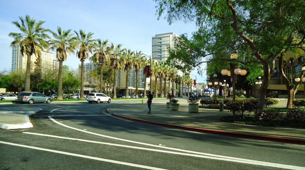 """<a href=""""https://www.goodfreephotos.com/united-states/california/san-jose/downtown-sam-jose-with-trees-and-street-in-san-jose-california.jpg.php"""" target=""""_blank"""" rel=""""noopener noreferrer"""">Downtown San Jose, California   Tomwsulcer / Good Free Photos</a>"""