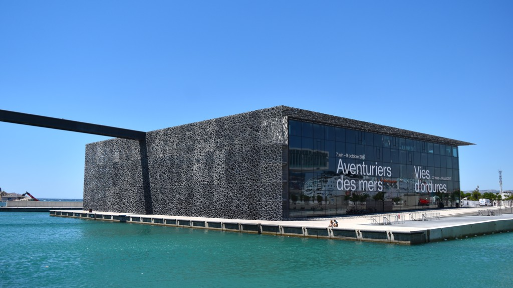 The MUCEM building in Marseille is just the surface of this radical regeneration project | © Emmanuel R
