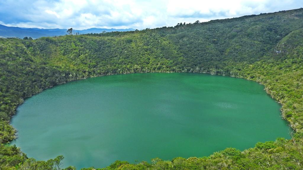 Lake Guatavita | © Chris Bell