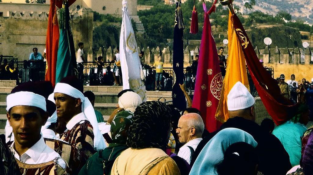 A folk festival in Morocco   © Wikimedia Commons