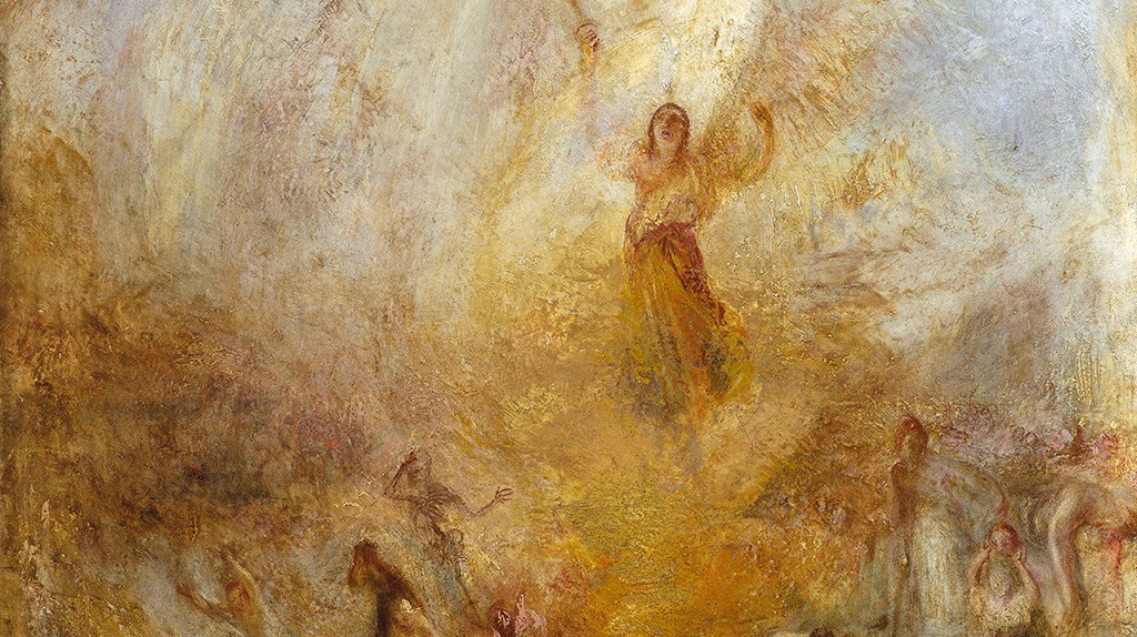 JMW Turner, The Angel Standing in the Sun, exhibited 1846 | Courtesy Tate