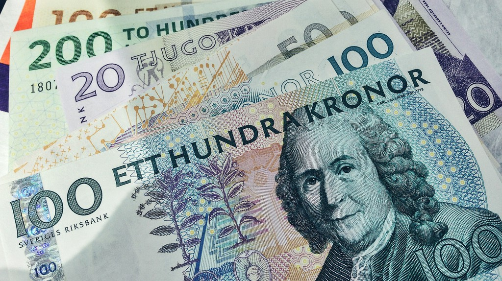 """<a href = """"https://www.flickr.com/photos/diversey/17218062490/""""> Swedish and Danish Currency 