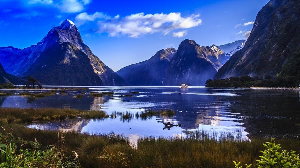 Mitre Peak and Milford Sound Landscape | © skeeze/Pixabay