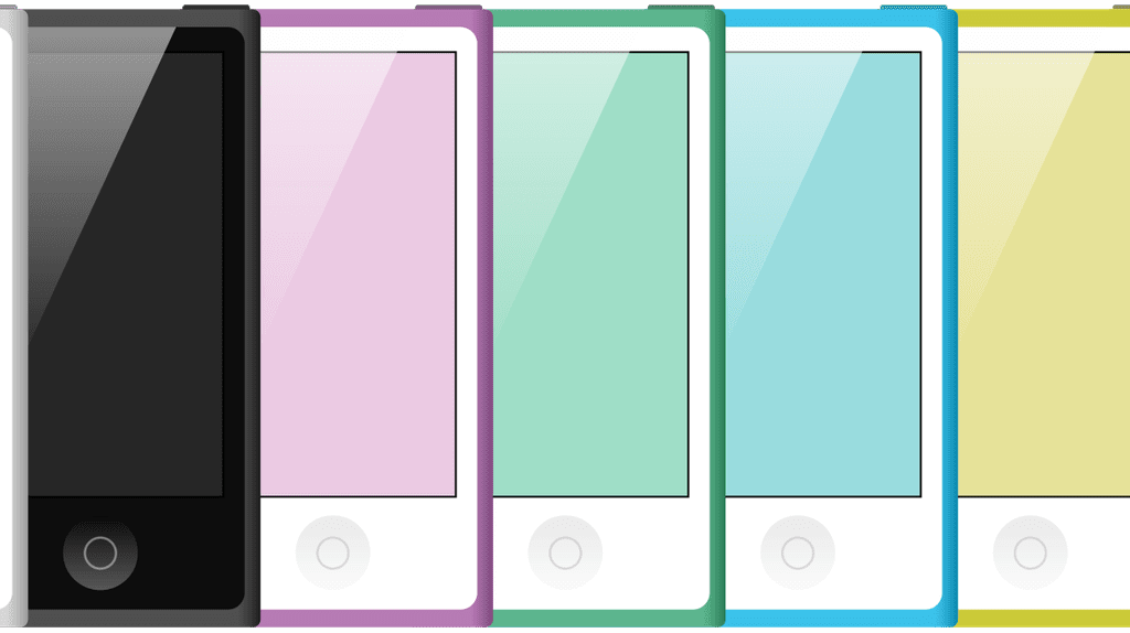 7th Generation iPod Nanos | © Alex Domaina