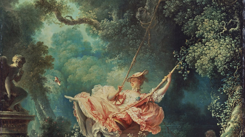The Swing, Jean-Honoré Fragonard, 1767   © The Wallace Collection