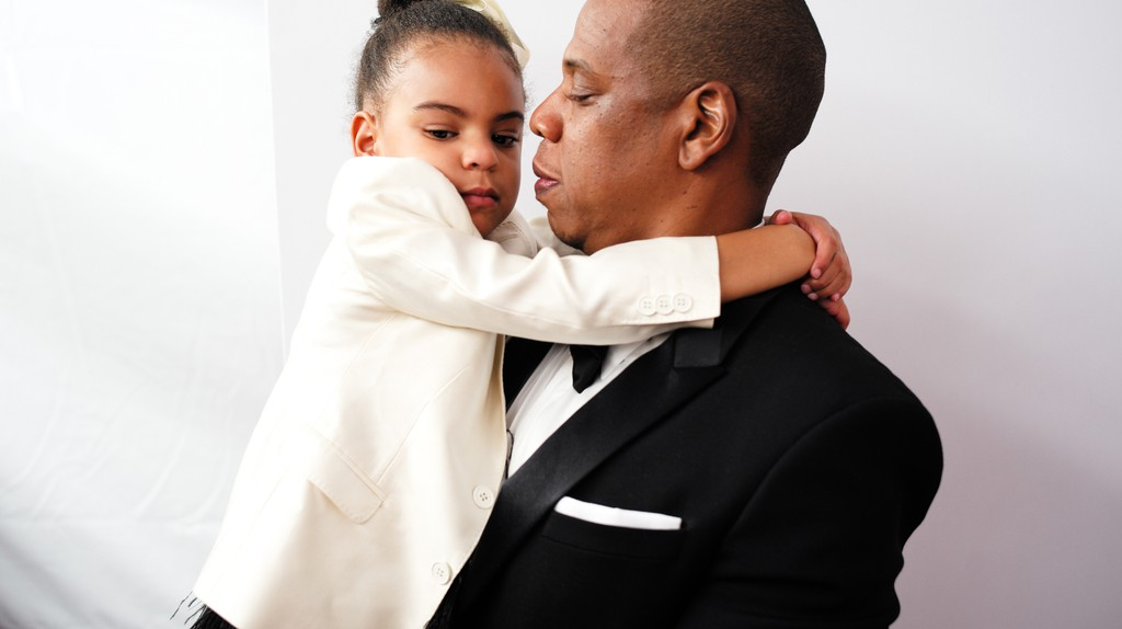 JAY-Z and daughter Blue Ivy © David X Prutting/BFA/REX/Shutterstock