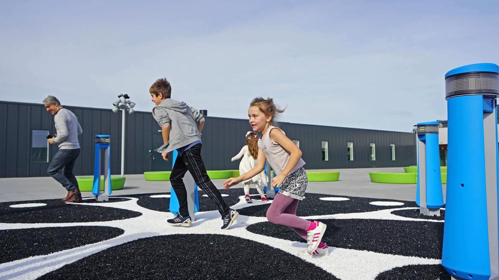 Interactive Rooftop   © Anders Bruun, courtesy of Experimentarium