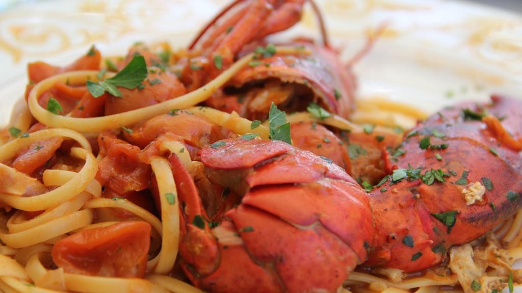 Seafood pasta © Pixabay