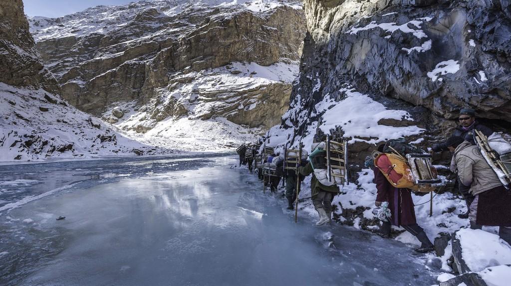 Chadar Trek, India   Manish Lakhani, from Wanderlust, © Gestalten 2017