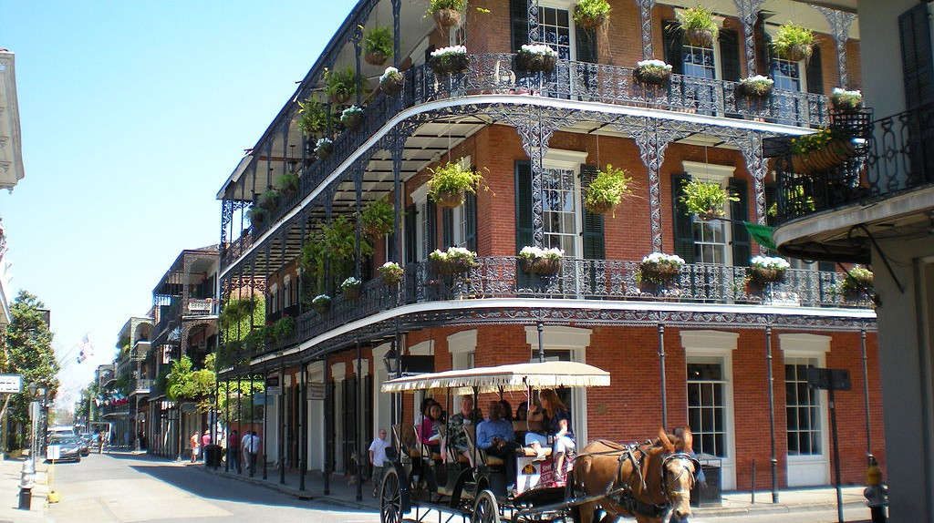 French Quarter, New Orleans | © Sami99tr / WikiCommons