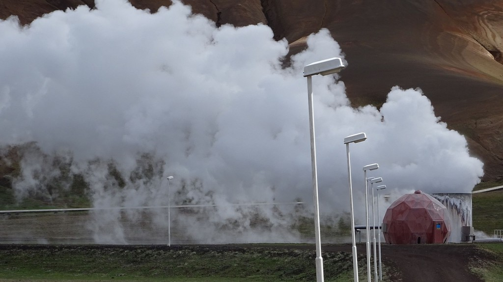 Krafla geothermal plant | © Flickr/VillageHero