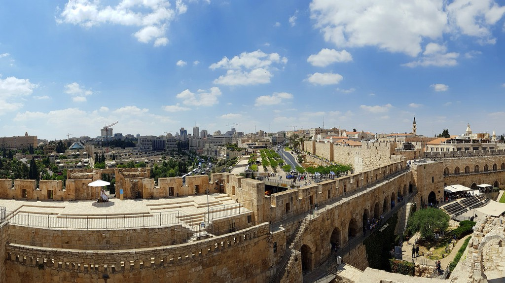 View from Tower of David, Jerusalem |ⒸYair Aronshtam / Flickr