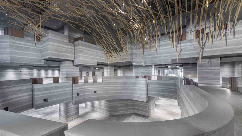 Exhibition Hall (The Forest) | © Dirk Weiblen