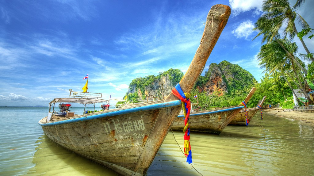 Boats in Krabi | © Mike Behnken/Flickr