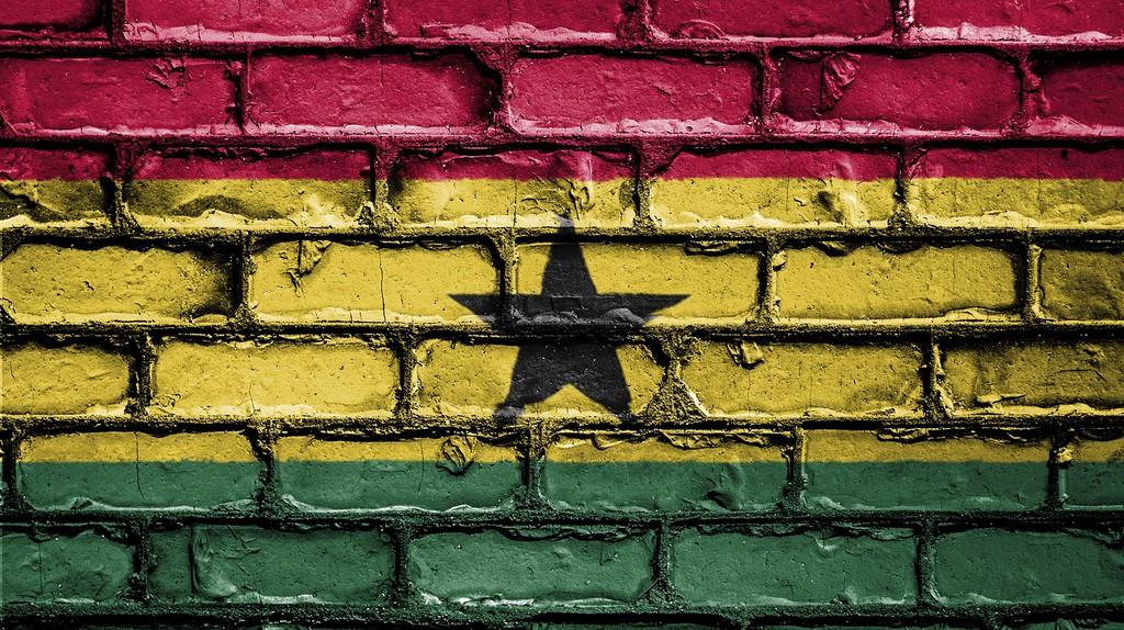 """<a href = """"https://pixabay.com/en/flag-banner-nation-emblem-country-2526396/""""> Ghana Flag   © Public_Domain_Photography/Pixabay"""