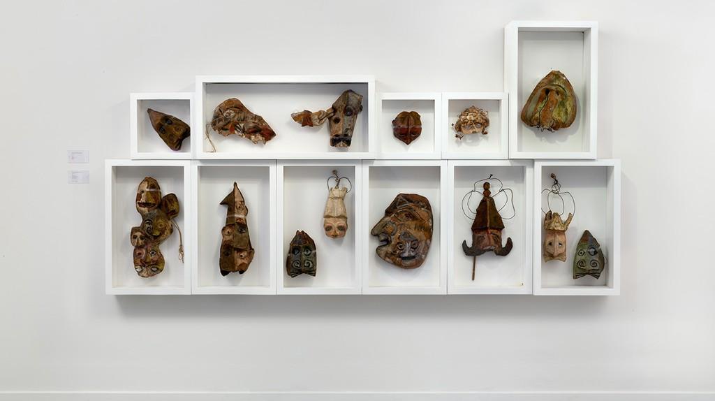 Installation view, Franciszka Themerson UBU, Richard Saltoun Gallery, London