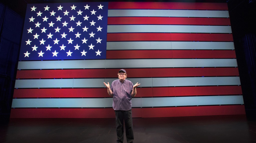 "Michael Moore in ""The Terms of My Surrender"" 