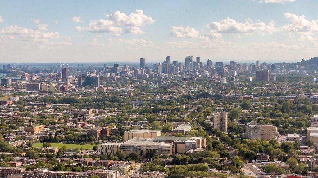 The Montreal skyline    © Caroline ALEXANDRE/ Flickr