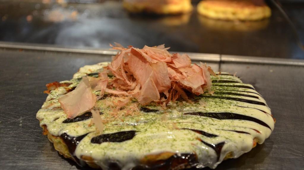 Okonomiyaki | © Prashant Ram/ Flickr.