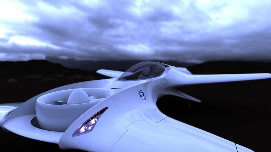The DeLorean DR-7 aircraft | © DeLorean
