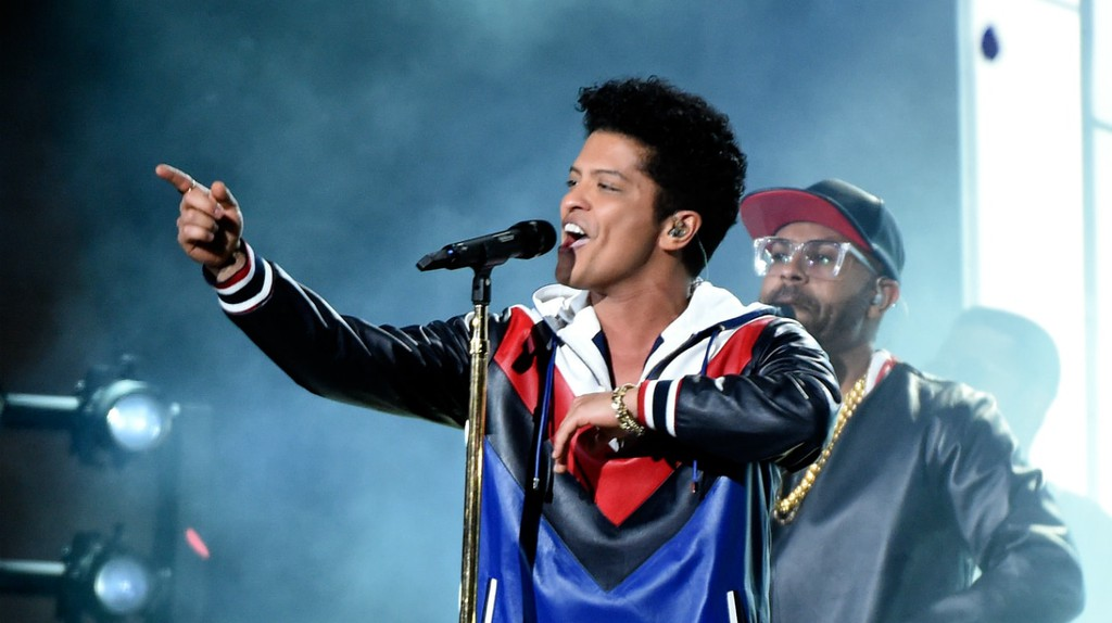 Bruno Mars © Frank Micelotta/REX/Shutterstock
