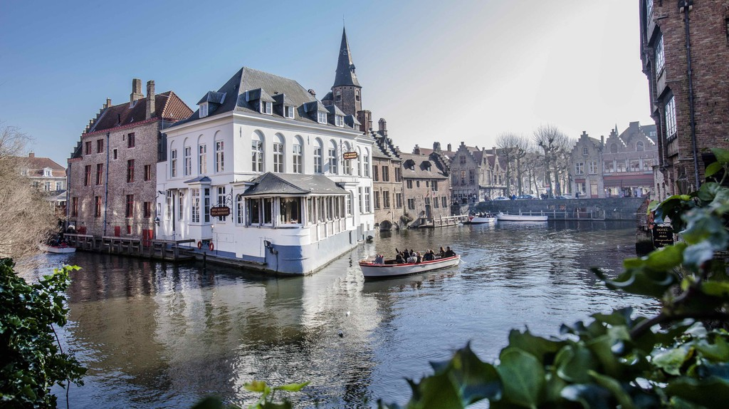 Rose Hat Quai | © Jan D'Hondt / Courtesy of Visit Bruges
