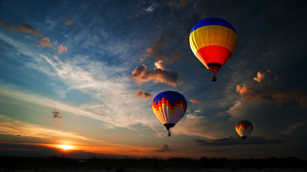 France has a new world record for simultaneous balloon flights | © rozbyshaka/Shutterstock